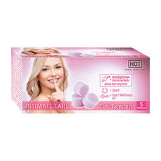"Tamponi ""HOT Intimate Care"" - 5 kosov"