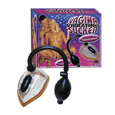 "Vibro vaginalna pumpica ""Vibrating Vagina Sucker"""