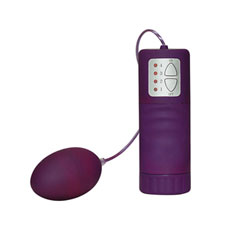 "Vibro stimulator ""Velvet Purple Pill"""