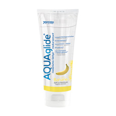 "Vlažilni gel ""AQUAglide"" - banana - 100 ml"