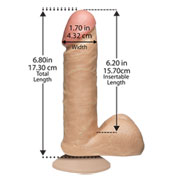 "Dildo ""The Realistic Cock - 6"""