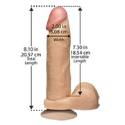 "Penis ""The Realistic Cock - 8"""