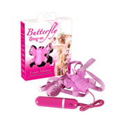 "Vibro metuljček ""Butterfly Strap-on"""